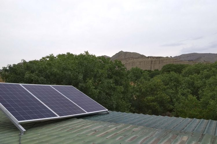 (Georgian) მზის ფოტოელექტრული და წყალგამაცხელებელი სისტემები ვაშლოვანის დაცული ტერიტორიაზ