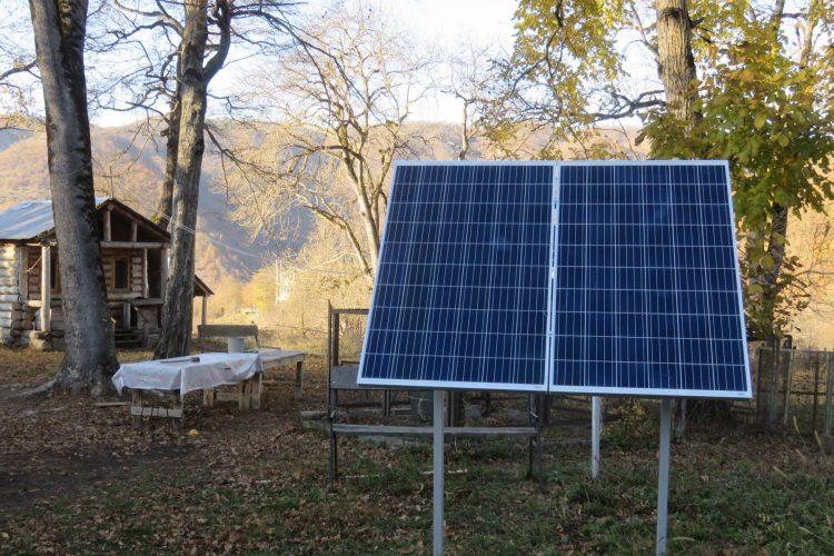 (Georgian) მზის ავტონომიური მიკროელექტრული სადგურები სოფელ სათერძეში