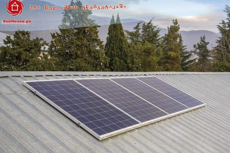 ქსელს მიერთებული მზის მიკროელექტრო სადგურები ლაგოდეხის  ბაგა-ბაღებსა და სკოლაში