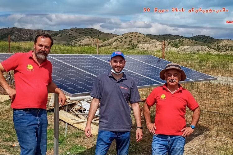 (Georgian) ავტონომიური მზის ფოტოელექტრული სადგური აგრომეურნეობისთვის
